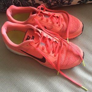 Nike Women's Bright Orange Running Shoes